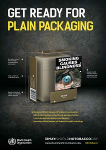 Who - Plain packaging of tobacco products